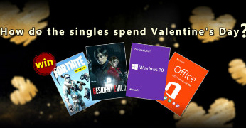 How do the singles spend Valentine's Day?