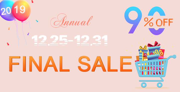 Annual Final Sale: Limited Time!