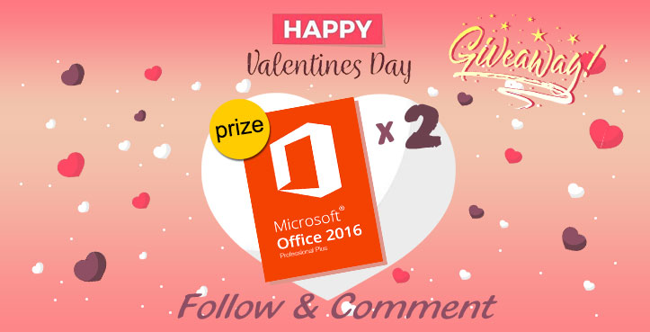 GIVEAWAY: how will you celebrate the Valentine's day?