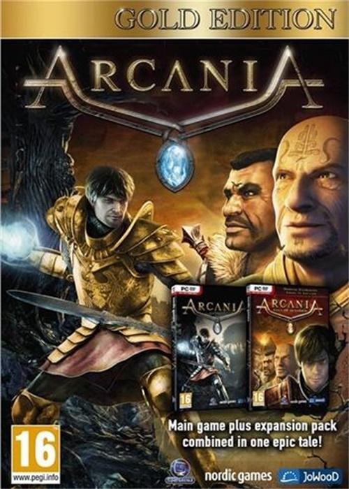 ArcaniA Gold Edition Steam CD Key