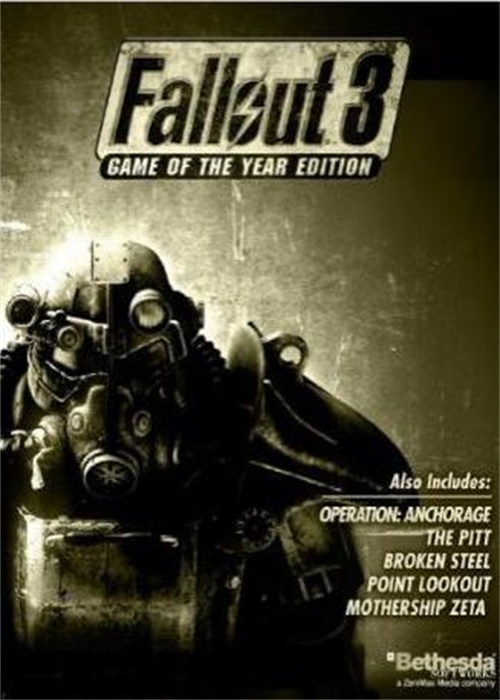Fallout 3 GOTY Edition Steam CD Key