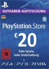 Official Play Station Network 20 EUR DE