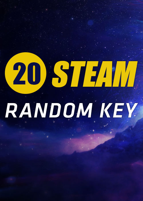 20 Steam Random Keys Global