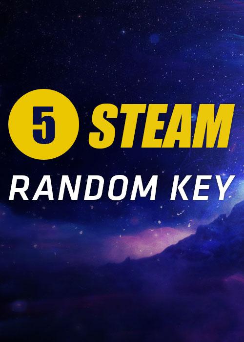 5 Steam Random Keys Global