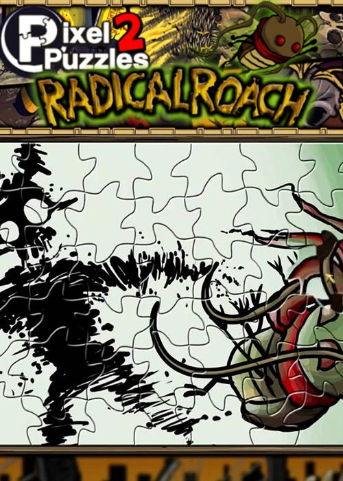 PIXEL PUZZLES 2 RADical ROACH Steam Key Global
