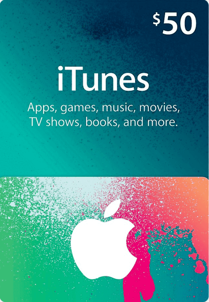 Apple iTunes Gift 50 USD