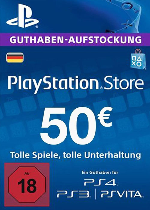 Play Station Network 50 EUR DE