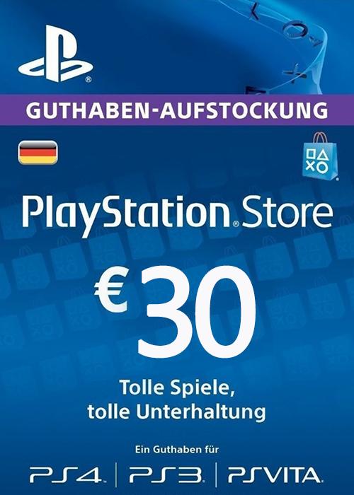 Play Station Network 30 EUR DE