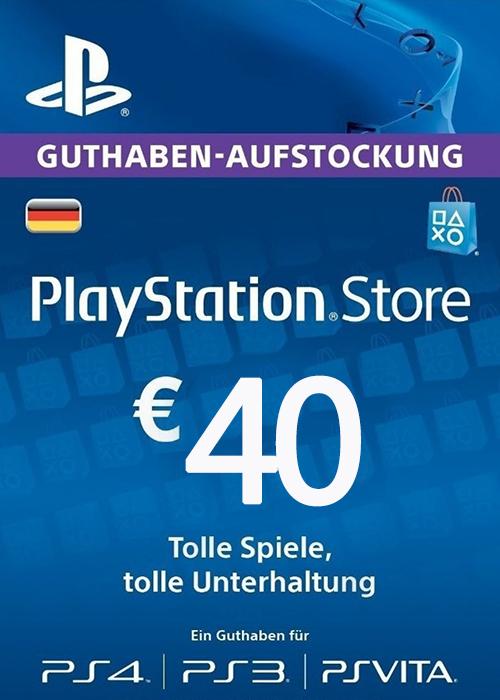 Play Station Network 40 EUR DE