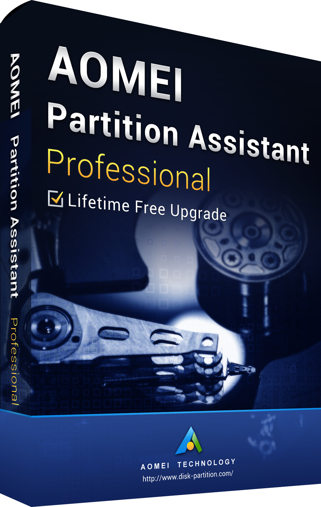 AOMEI Partition Assistant Professional + Free Lifetime Upgrades 8.8 Key Global
