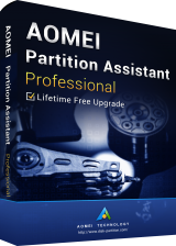 Official AOMEI Partition Assistant Professional + Free Lifetime Upgrades 8.8 Key Global