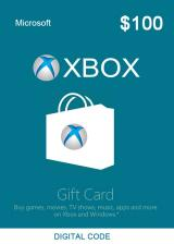Official XBOX Live Gift Card 100 USD Key