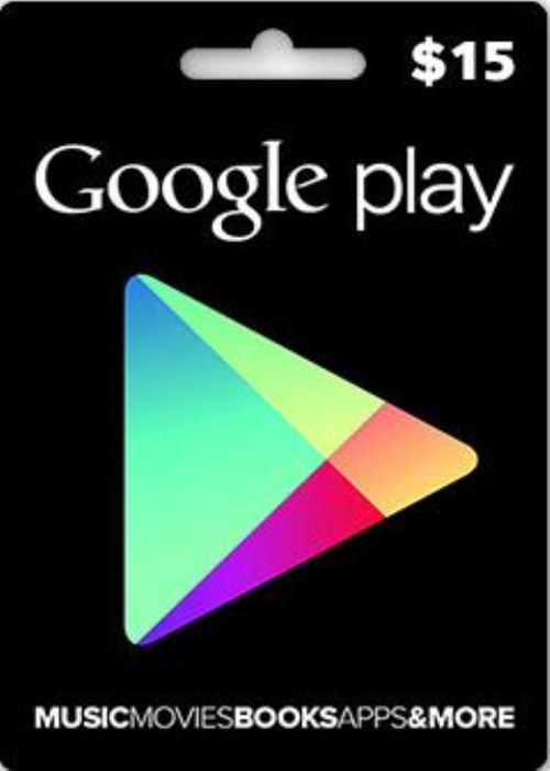 Google Play Gift 15 USD