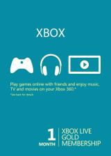 Official Xbox 1 Month Gold Membership Global