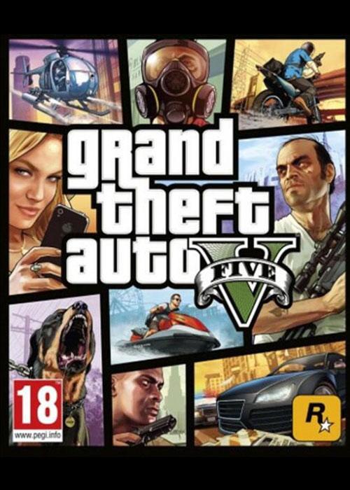 Grand Theft Auto V Xbox One Code Global