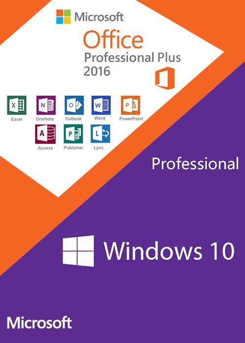 Windows10 Pro + Office2016 Professional Plus KEY