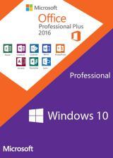 Official Windows10 Pro + Office2016 Professional Plus KEY