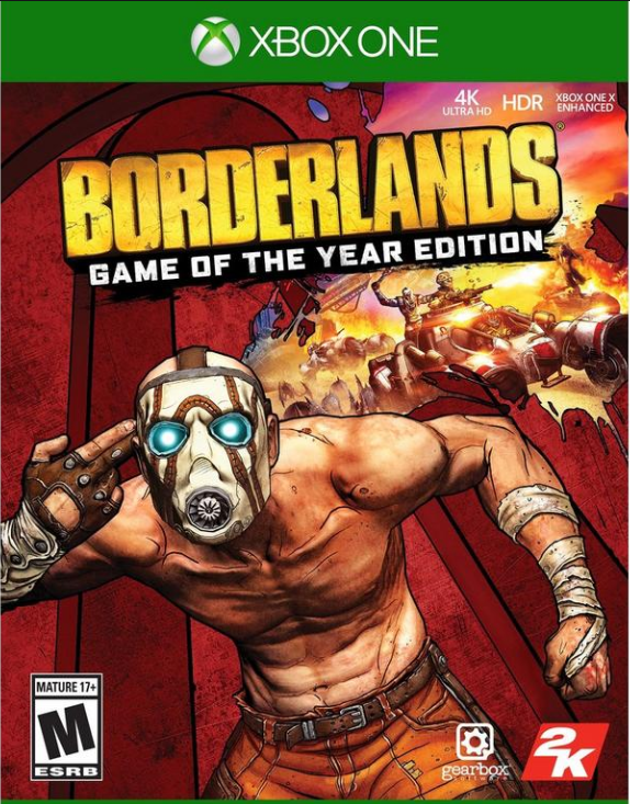 Borderlands Game of The Year Edition Xbox CD Key Global