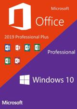 Official Windows10 PRO OEM + Office2019 Professional Plus KEY