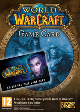 Official World of Warcraft EU 60 Days Time Card
