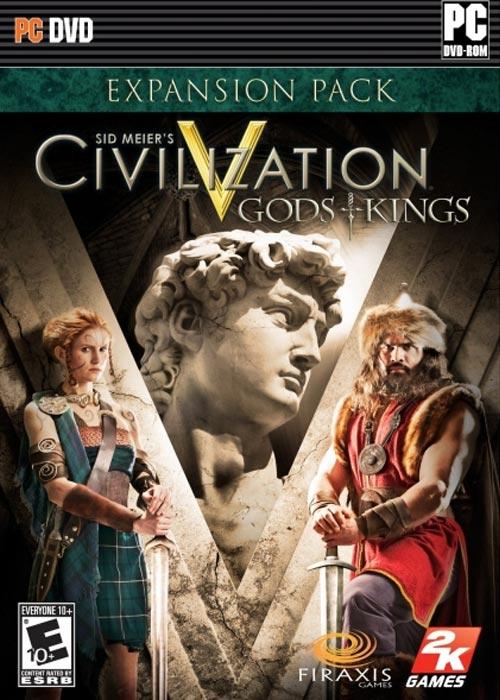 Civilization V Gods and Kings DLC Steam CD Key