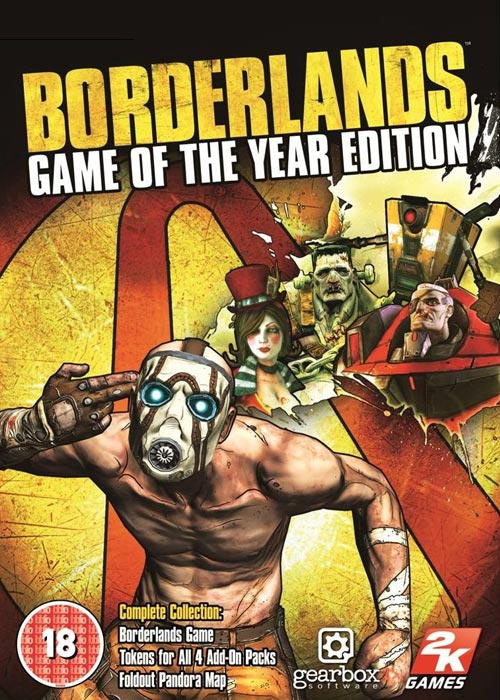 Borderlands Game of the Year Edition Steam CD Key | Buy ...