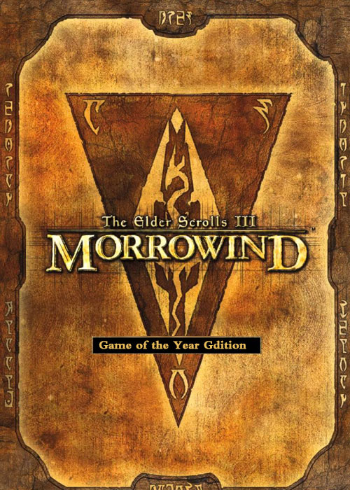 The Elder Scrolls III Morrowind GOTY Edition Steam CD Key