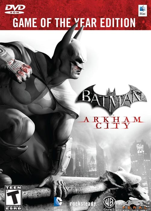 Batman Arkham City: GOTY Steam CD Key