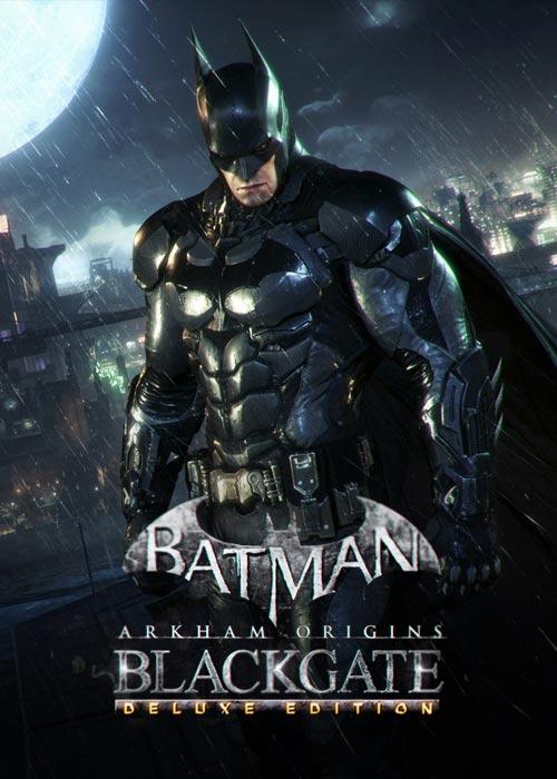 Batman Arkham Origins Blackgate Deluxe Steam CD Key