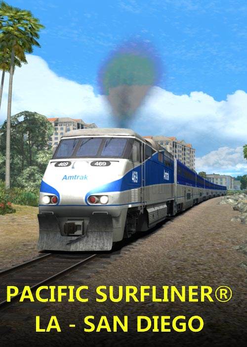 Train Simulator Pacific Surfliner LA San Diego Route Steam CD Key