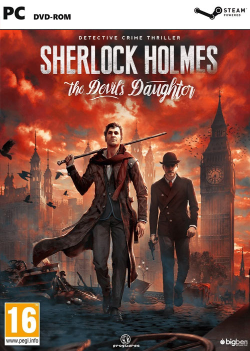Sherlock Holmes The Devil's Daughter Steam CD Key